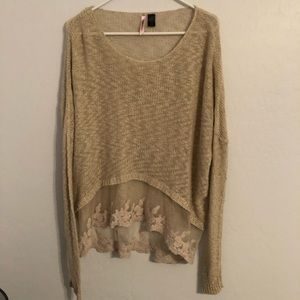 Love by Design Lace Sweater